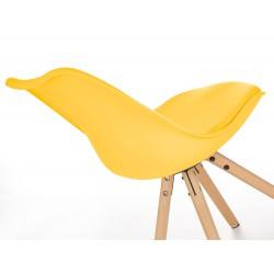 K201 krzesło żółty