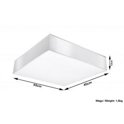 Plafon HORUS 45 Biały