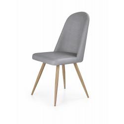 K214 krzesło popiel / dąb miodowy