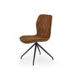 K237 krzesło brązowy