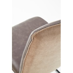 K270 krzesło ciemny popiel