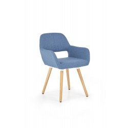 K283 krzesło niebieskie