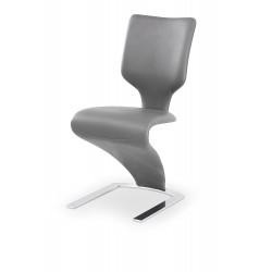 K301 krzesło jasny popiel / popielaty