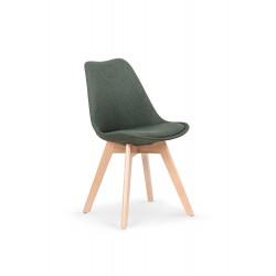 K303 krzesło ciemny zielony / buk