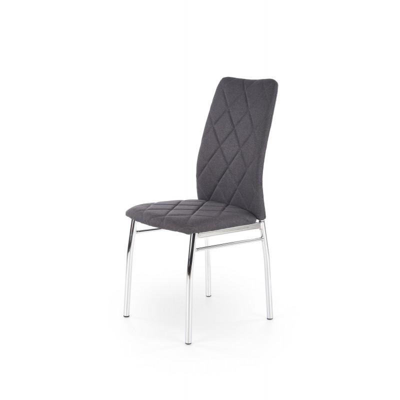 K309 krzesło ciemny popiel