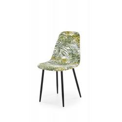 K317 krzesło tapicerka - wielobarwny, nogi - czarny