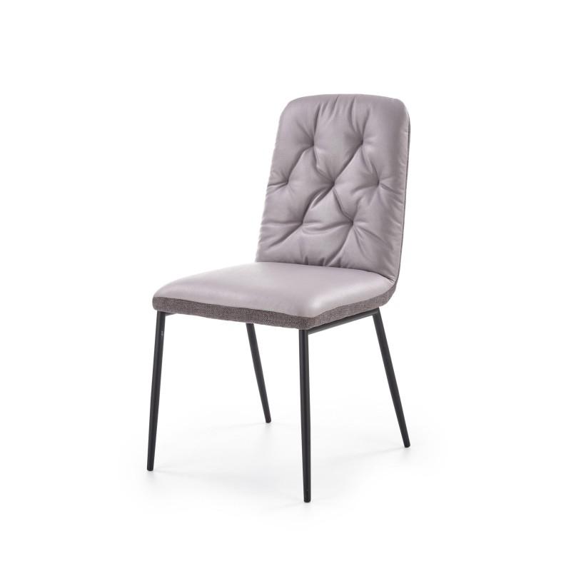 K340 krzesło jasny popiel / popiel