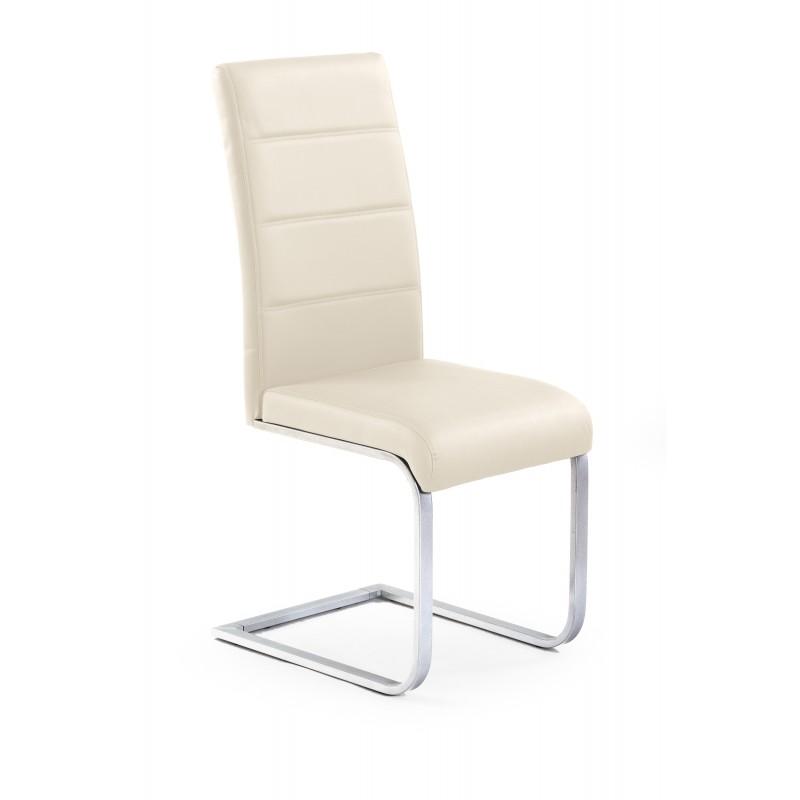 K85 krzesło ciemny krem