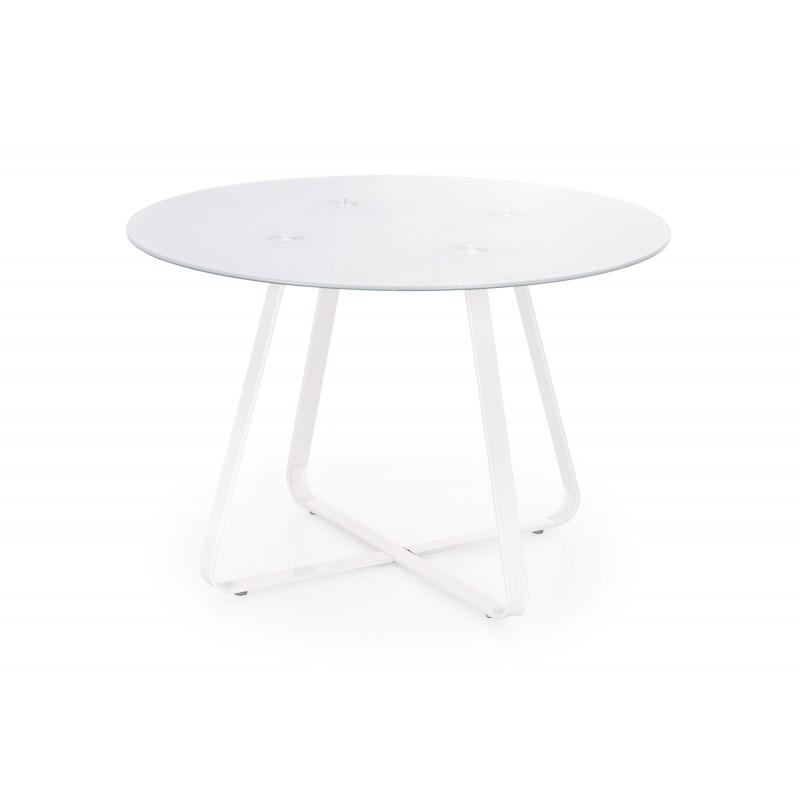 LOOPER stół stelaż - biały, blat - biały
