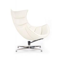 LUXOR fotel wypoczynkowy biały