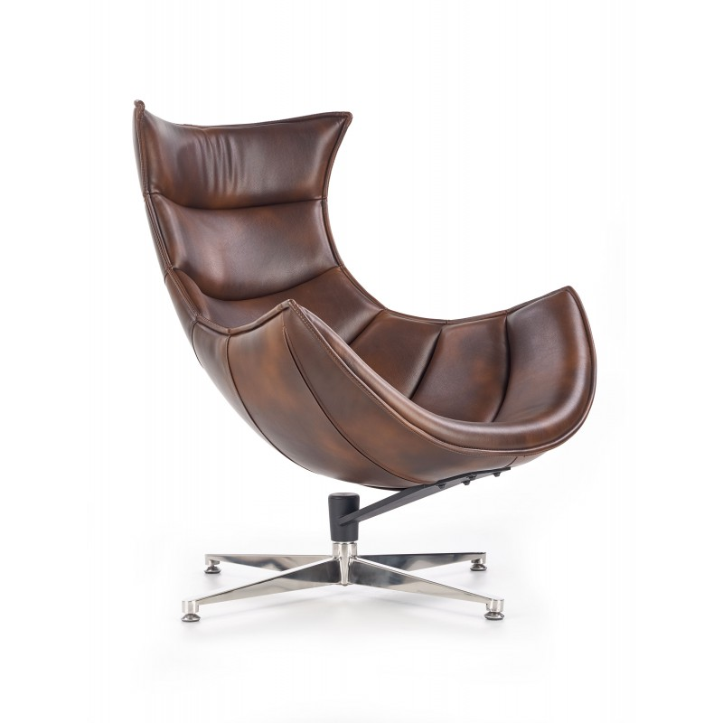 LUXOR fotel wypoczynkowy c. brązowy