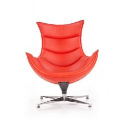 LUXOR fotel wypoczynkowy czerwony