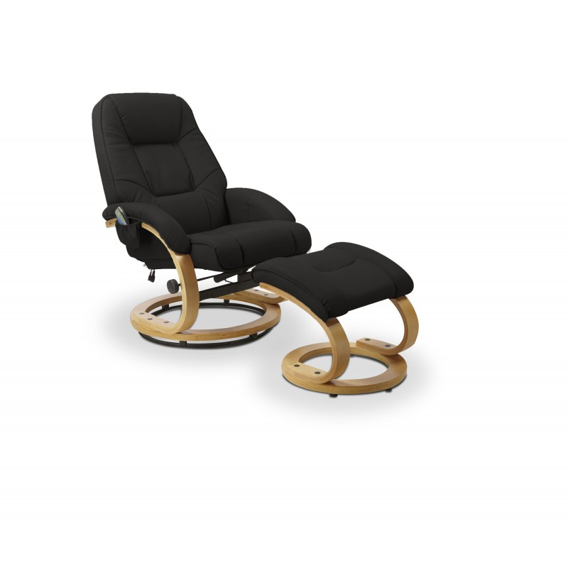 MATADOR fotel czarny