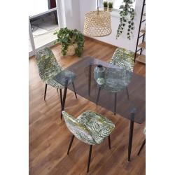 NEXT stół blat - dymiony, nogi - dąb miodowy