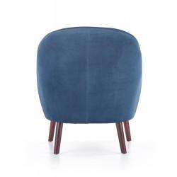 OPALE fotel wypoczynkowy ciemny niebieski