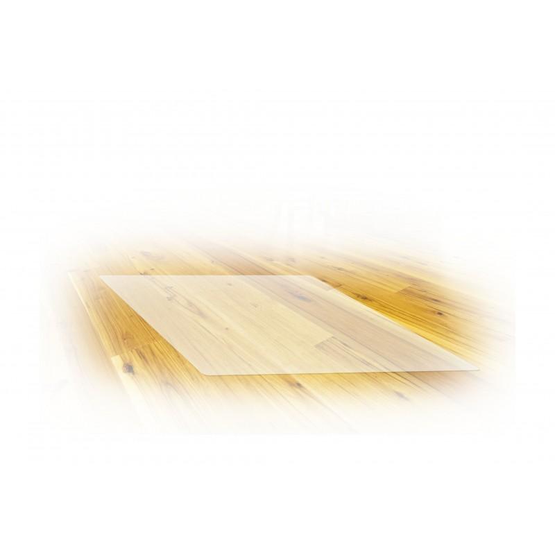 Mata ochronna 125x100 cm, poliwęglan, kolor: krystaliczna przejrzystość
