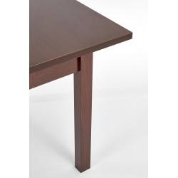 MAURYCY stół kolor ciemny orzech