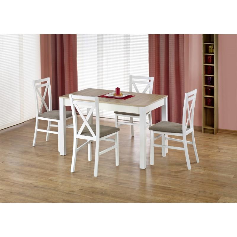 MAURYCY stół kolor dąb sonoma / biały