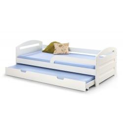 NATALIE 2 łóżko białe