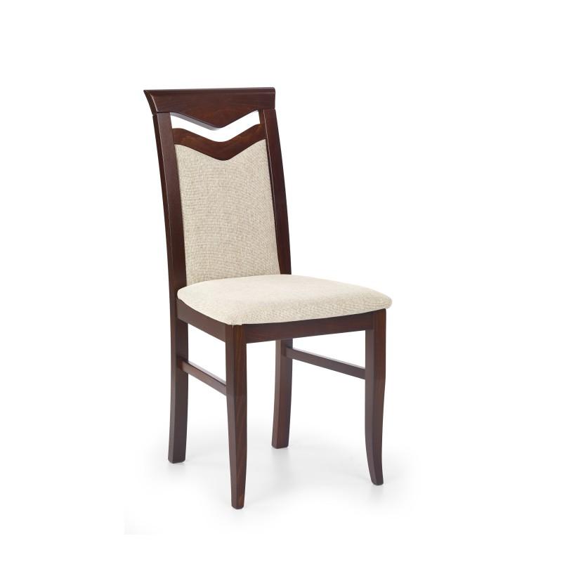 CITRONE krzesło ciemny orzech / tap: VILA 2