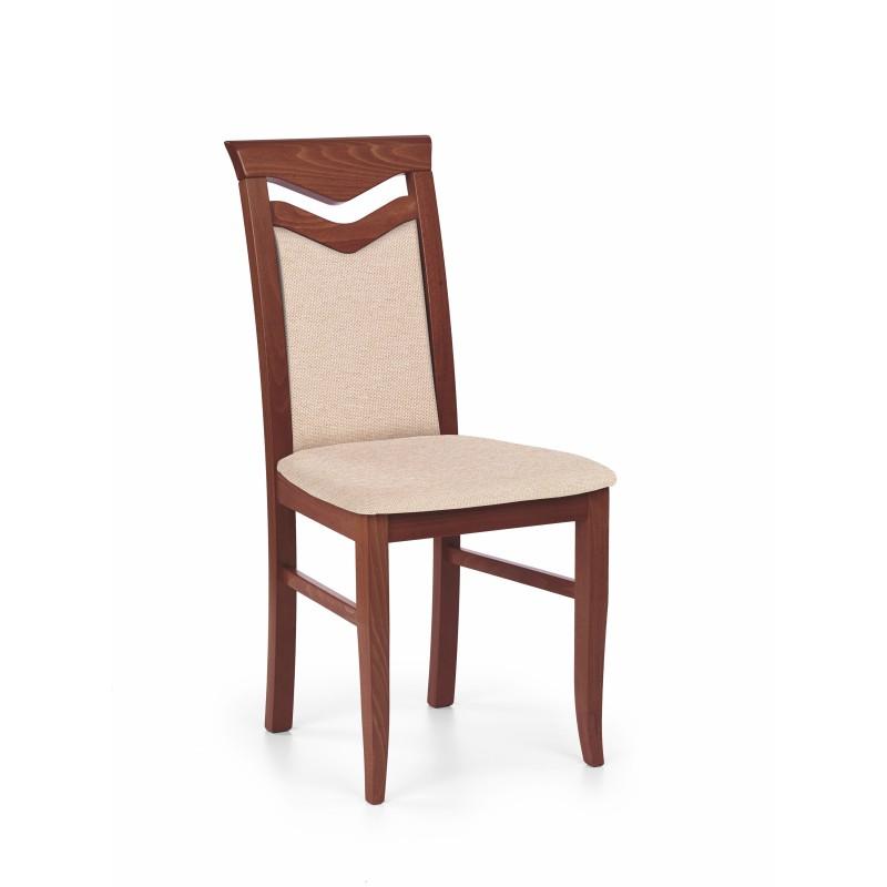 CITRONE krzesło czereśnia ant. II / tap: MESH 1