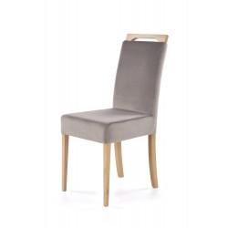 CLARION krzesło dąb miodowy / tap: RIVIERA 91