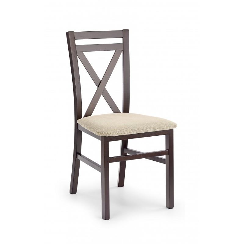 DARIUSZ krzesło ciemny orzech / tap: Vila 2