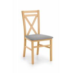 DARIUSZ krzesło dąb miodowy / tap: Inari 91