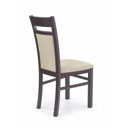 GERARD2 krzesło ciemny orzech / tap: Torent Beige
