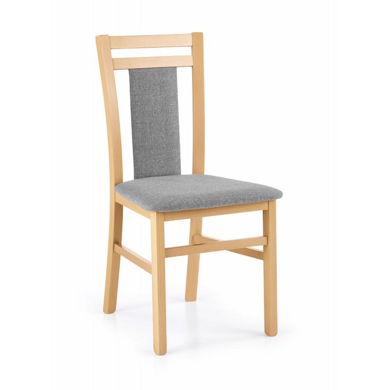 HUBERT8 krzesło dąb miodowy / tap: Inari 91