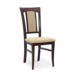KONRAD krzesło ciemny orzech / tap: Torent Beige