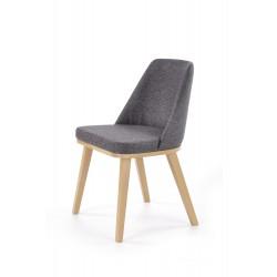 PUEBLO krzesło dąb miodowy / tap. Kreta 10