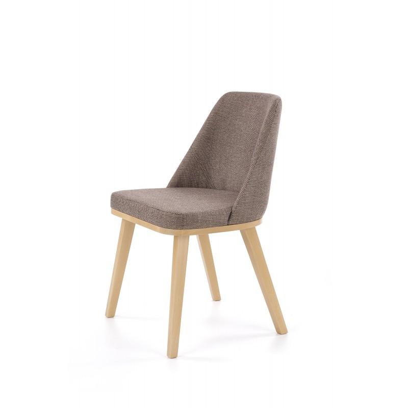 PUEBLO krzesło dąb miodowy / tap. Kreta 13