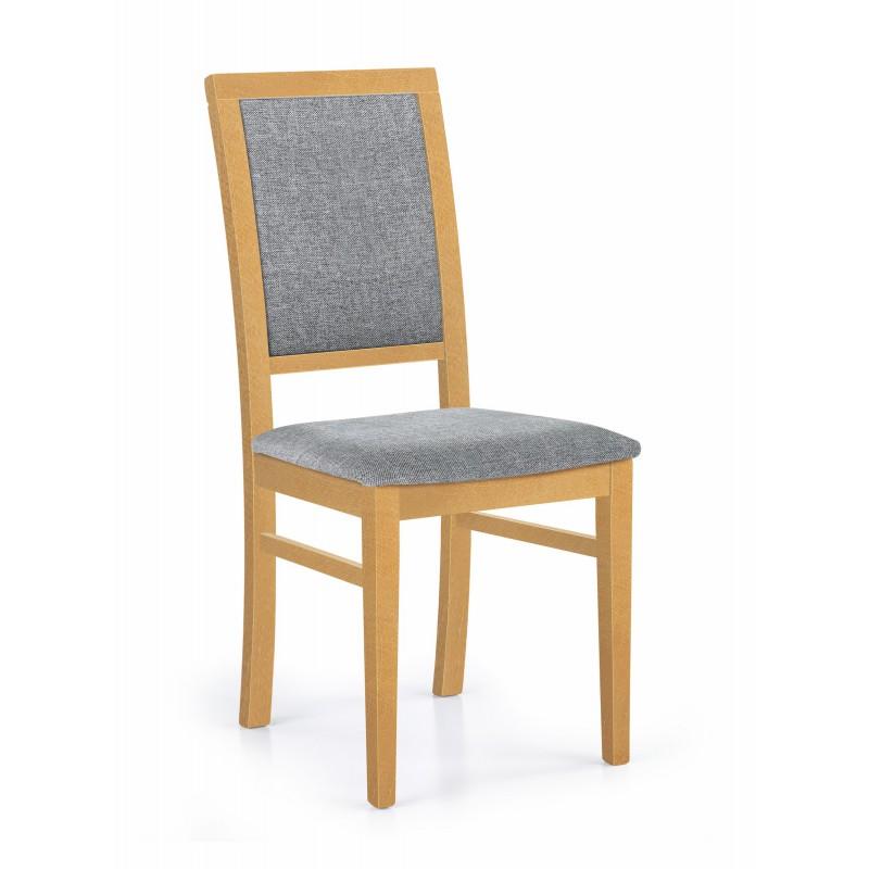 SYLWEK1 krzesło dąb miodowy / tap: Inari 91