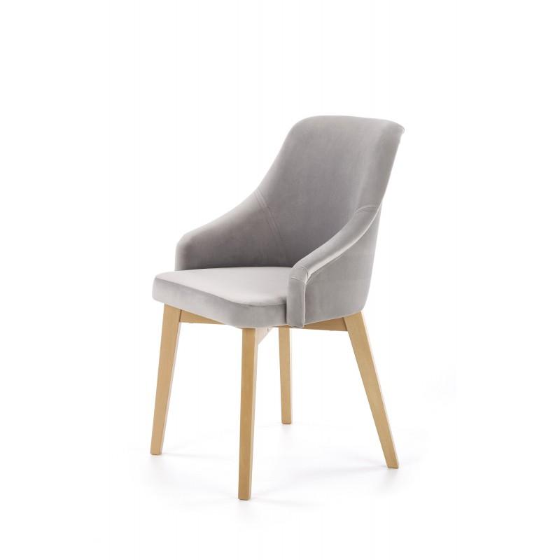 TOLEDO 2 krzesło dąb miodowy / tap. Solo 265