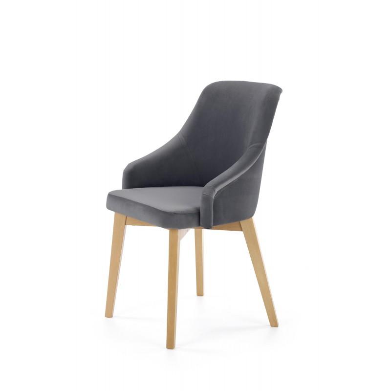 TOLEDO 2 krzesło dąb miodowy / tap. Solo 267