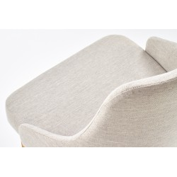 TOLEDO krzesło dąb miodowy / tap. Inari 22 (jasny beż)