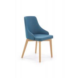 TOLEDO krzesło dąb miodowy / tap. Inari 87 (turkusowy)