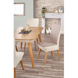 ORCHID stół rozkładany dąb miodowy / beżowy