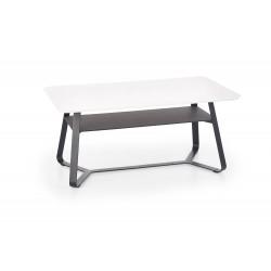 REDO 2 ława prostokątna biały / czarny