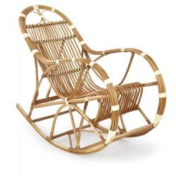 ROCCO fotel wiklinowy bujany, kolor: naturalny