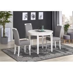 SORBUS stół rozkładany, blat - biały, nogi - białe