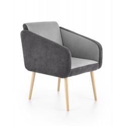 WELL fotel wypoczynkowy ciemny popiel / jasny popiel ( LIRA 1212 / LIRA 1213 )