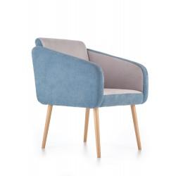 WELL fotel wypoczynkowy popielato - turkusowy (ALFA 13 / ALFA 14)