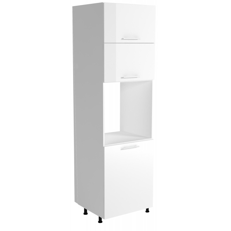 VENTO DP-60/214 szafka dolna wysoka front: biały