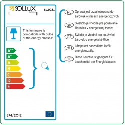 Plafon ORBIS 1 Biały